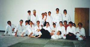 2006 in der Grube Louise mit Monika Evers