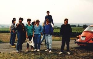1987 mit Juta Looser-Bernard in L'Enfumée