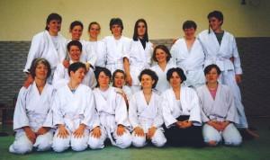 1998 im Hunsrück mit Catherine Boukhenter