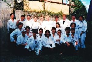 2002 in Ranzo mit Mimma Turco
