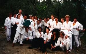 1996 in Ranzo mit Mimma Turco