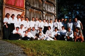 2004 mit Miranda Saarentaus in Birach