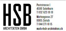 Anfahrt Büro Solothurn
