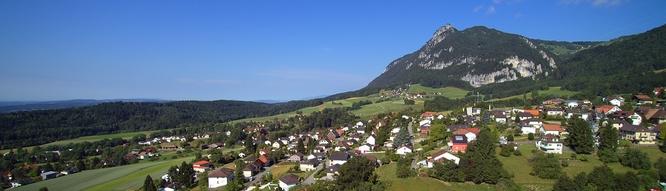Wohnen nahe Solothurn mit Alpensicht