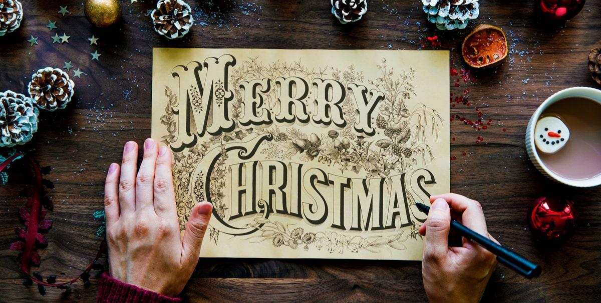 Individuelle Weihnachtskarten.Individuelle Weihnachts Klappkarte Zum Festpreis