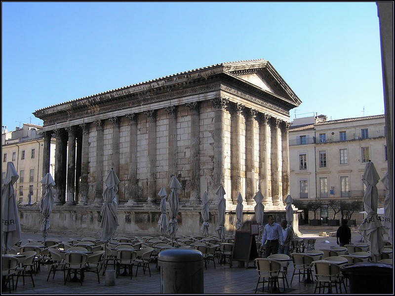 Nîmes la maison carré