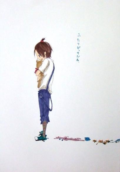生徒作品113   「キャラクターデザイン」 コピック B3判 KMKケント紙 【マンガ系】