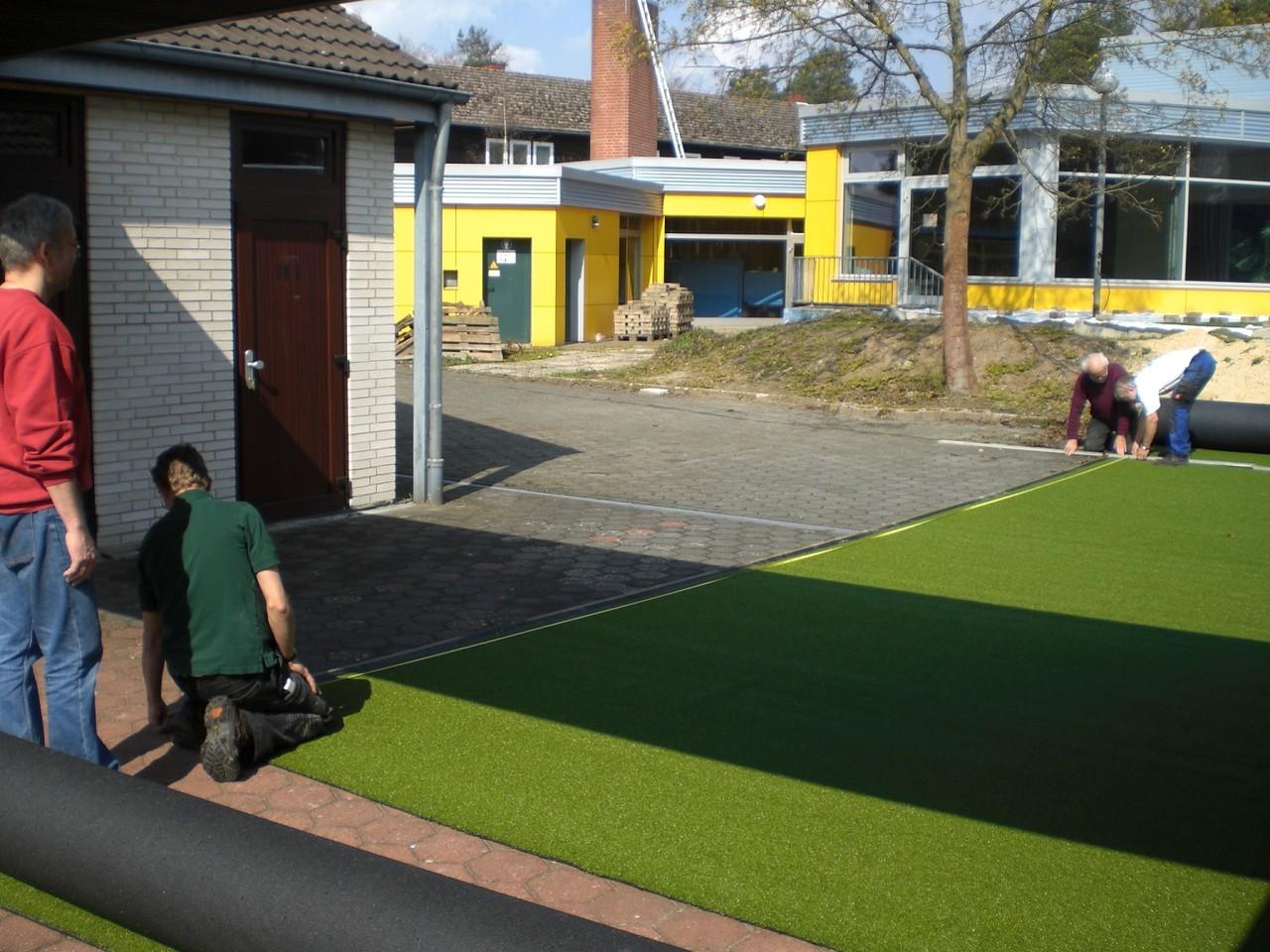 Terrassenbau April 2012