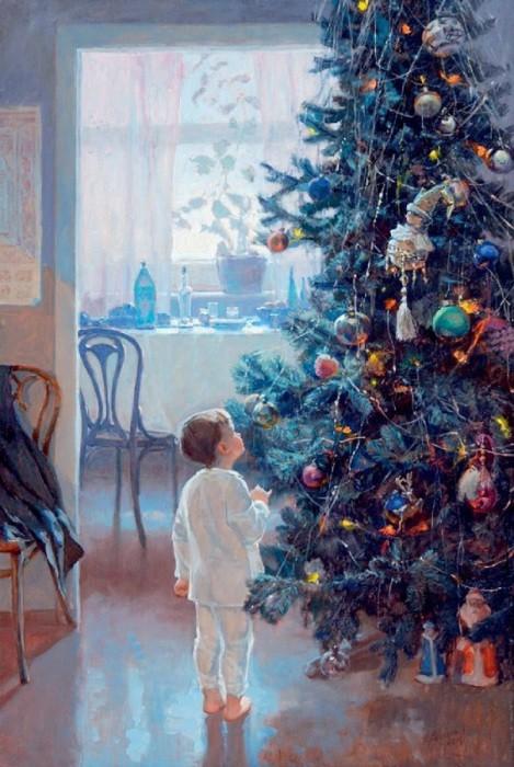 Масляная живопись художника Александа Левченкова