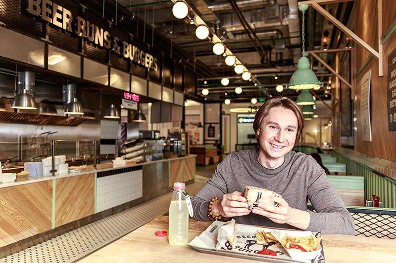 Основатель сети BB & Burgers Иван Кукарских, фото Олег Яковлев