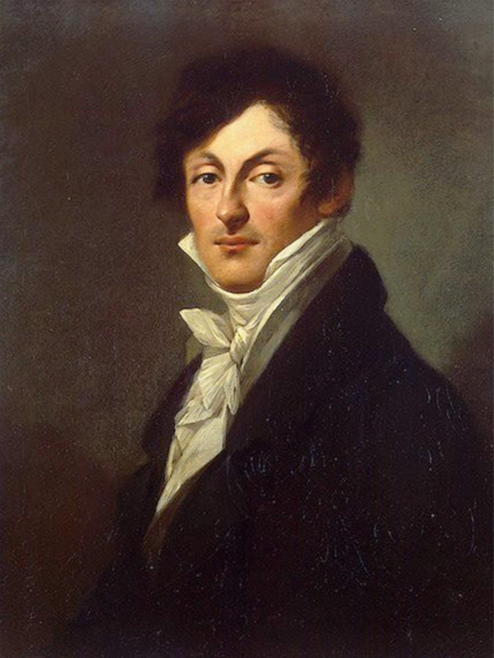 Портрет графа А. Остерман-Толстого. 1807. П.- П. Прюдон.