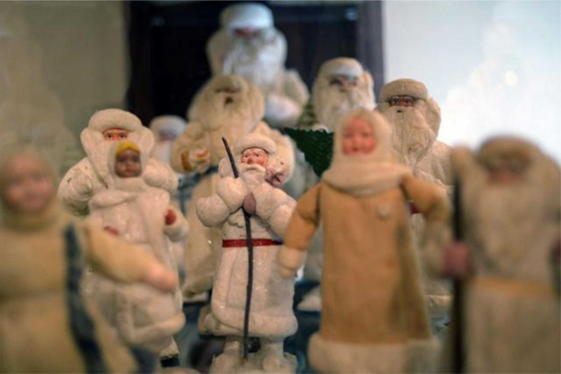 Дед Мороз. Ватная игрушка. 1930 -1940-е гг.