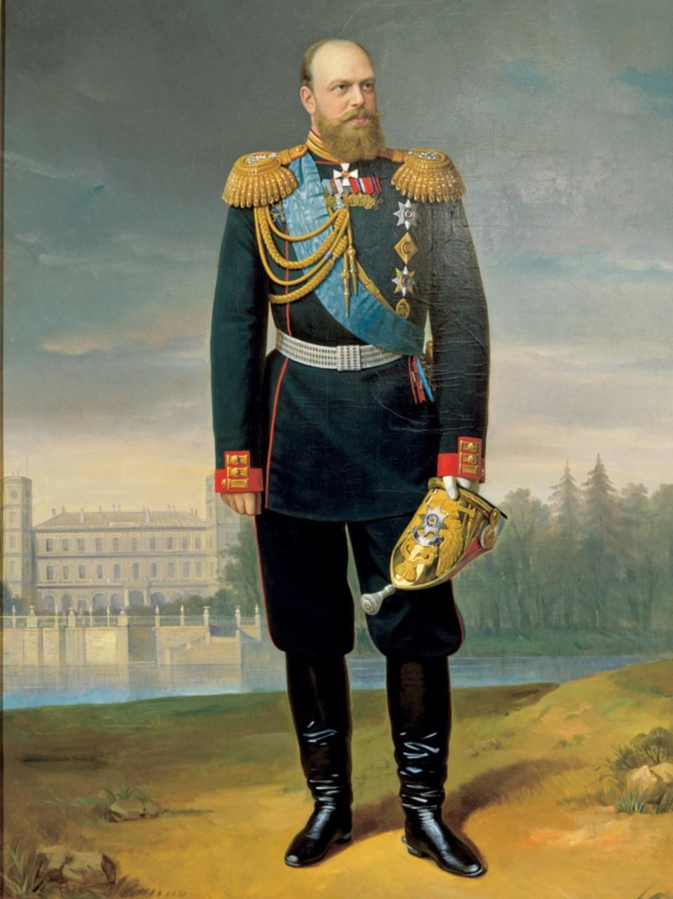 Александр III (Миротворец) Александрович Романов, государь император и самодержец Всероссийский в 1881—1894.