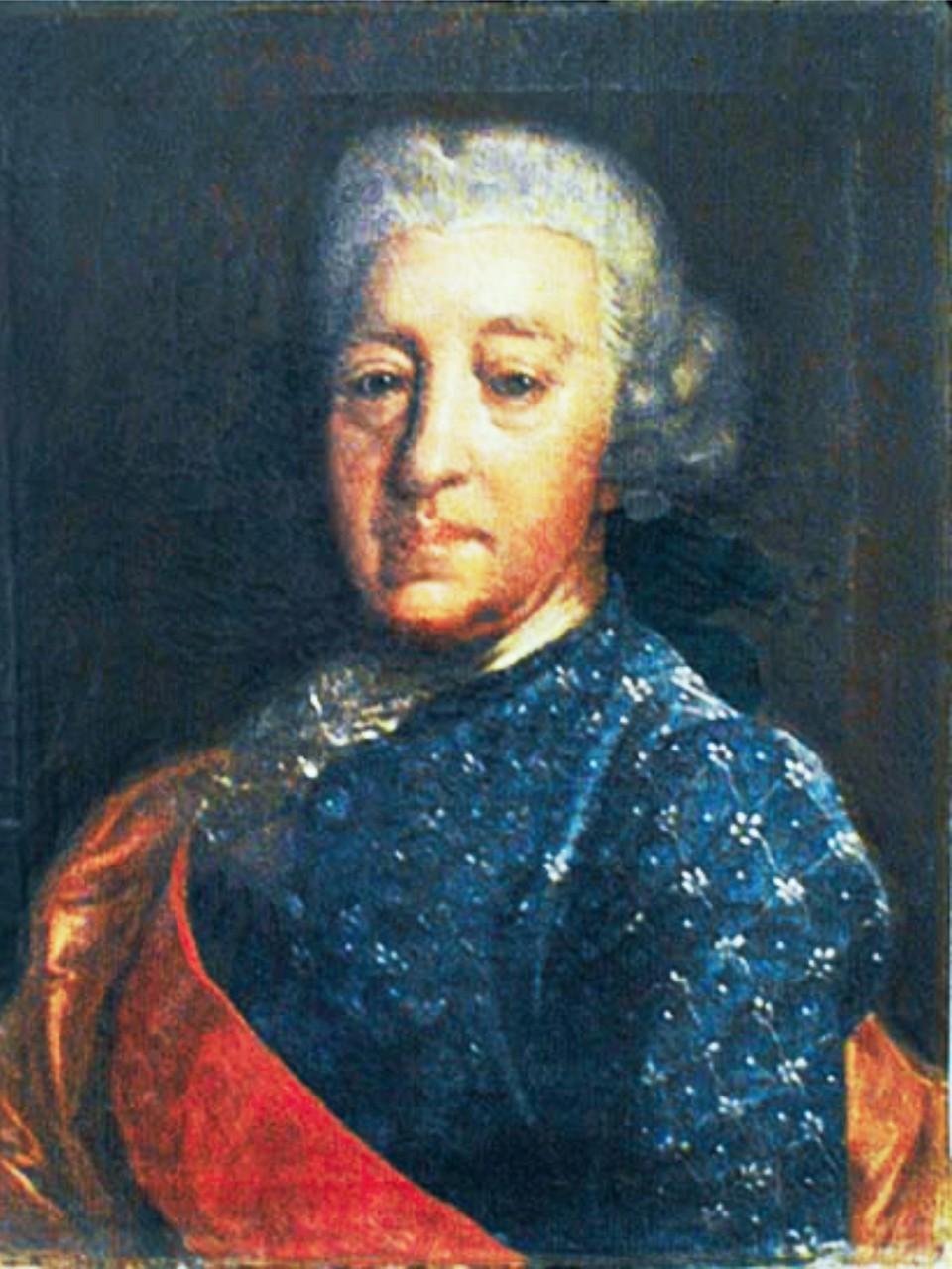 Василий Иванович Стрешнев (1707-1782), брат Марфы Остерман