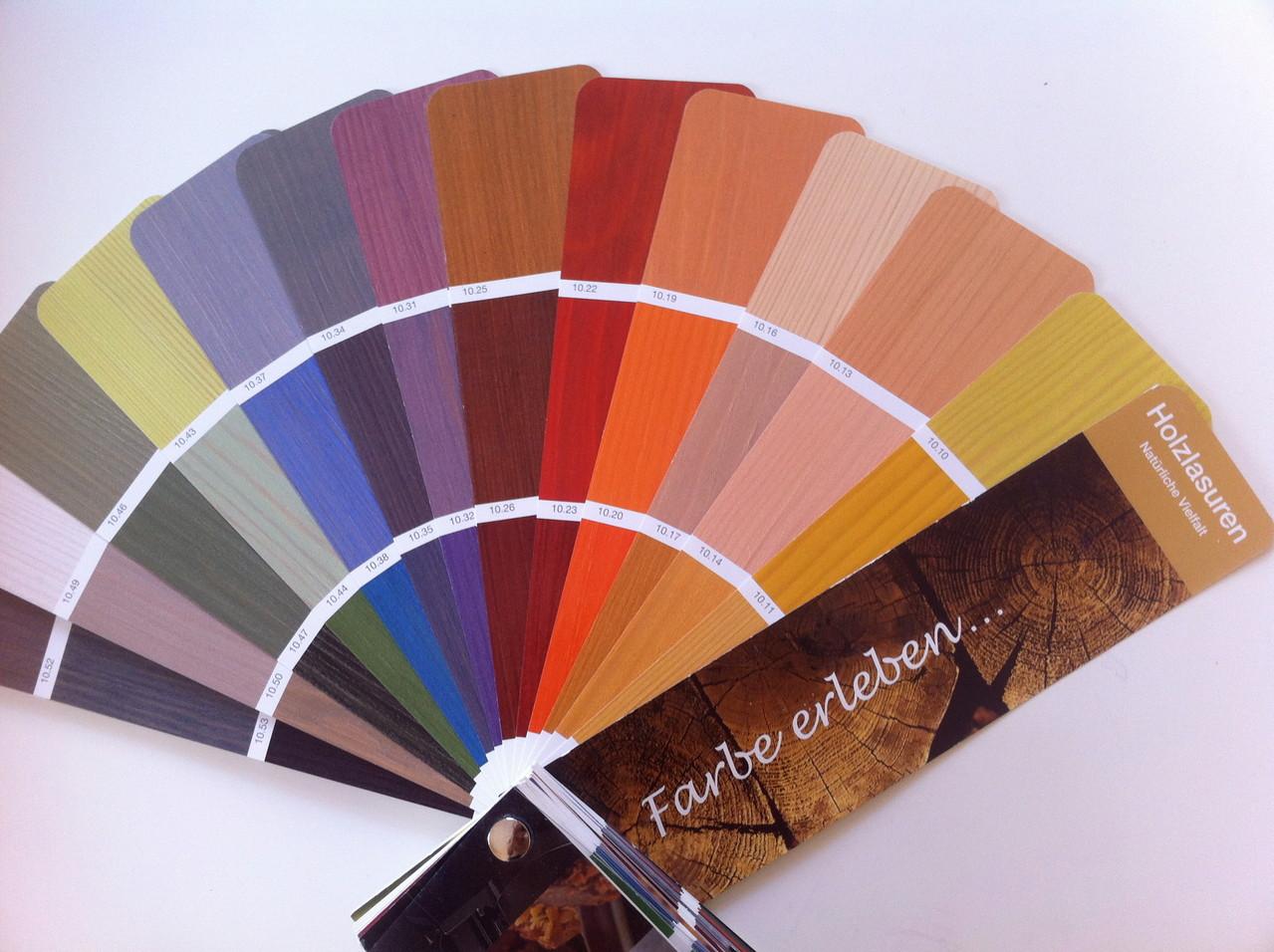 Holzlasuren - Natürliche Vielfalt