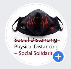 Situationsbezogenes Profilbild für Social Media