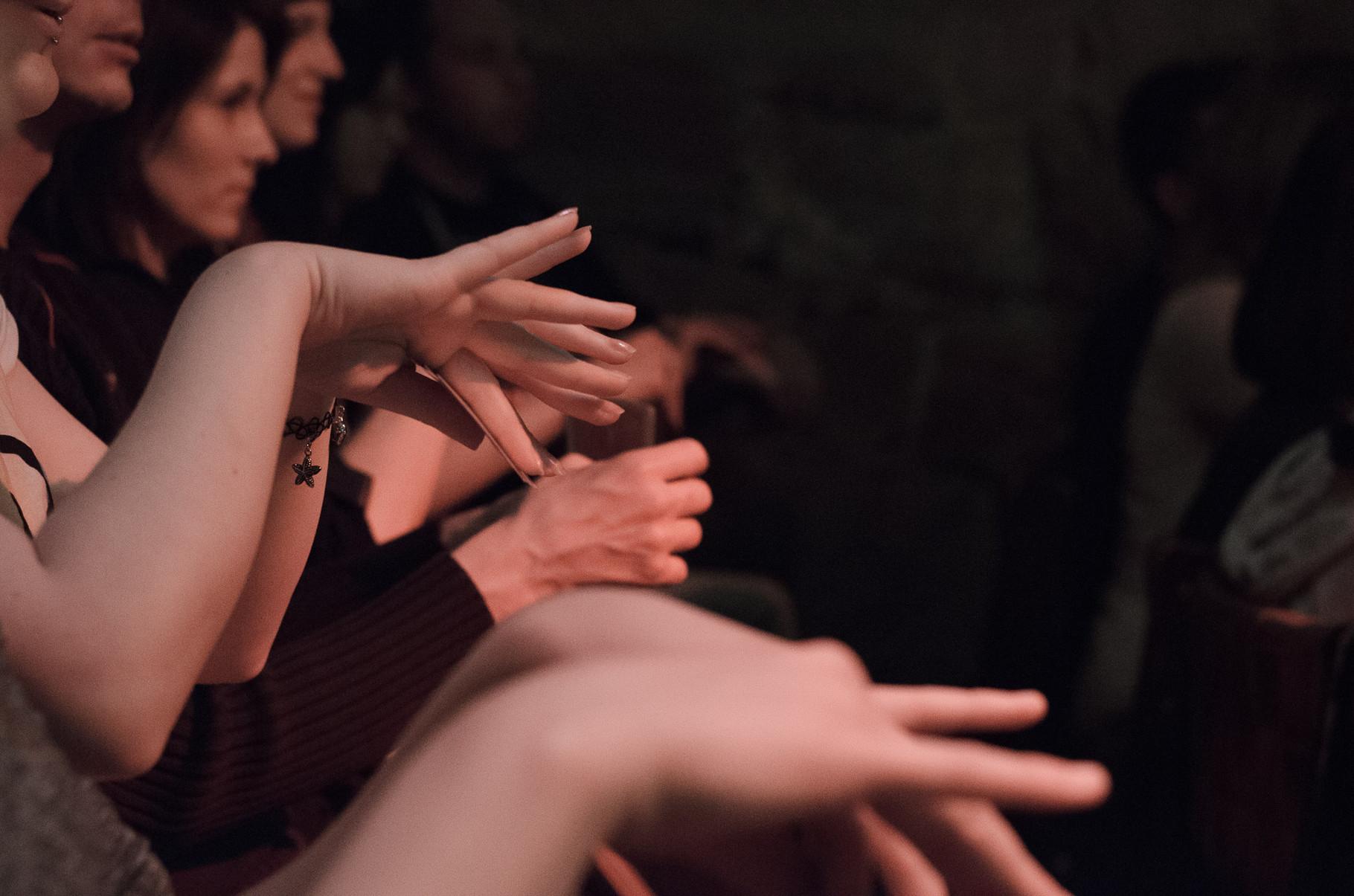 Magie in den Händen des Publikums.