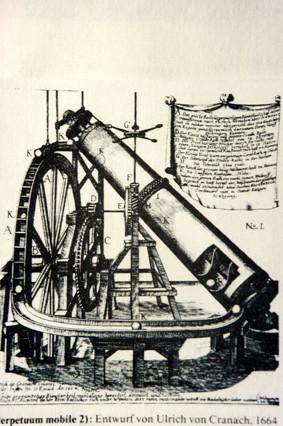Perpetuum Mobile (Ulrich von Cranach 1664)