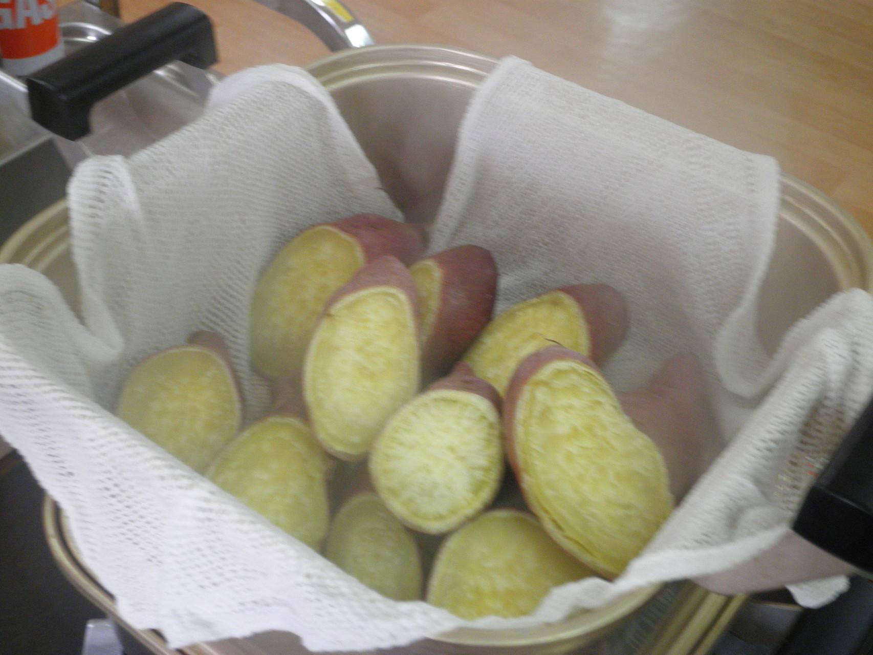 素材の良さが引き立つふかし芋