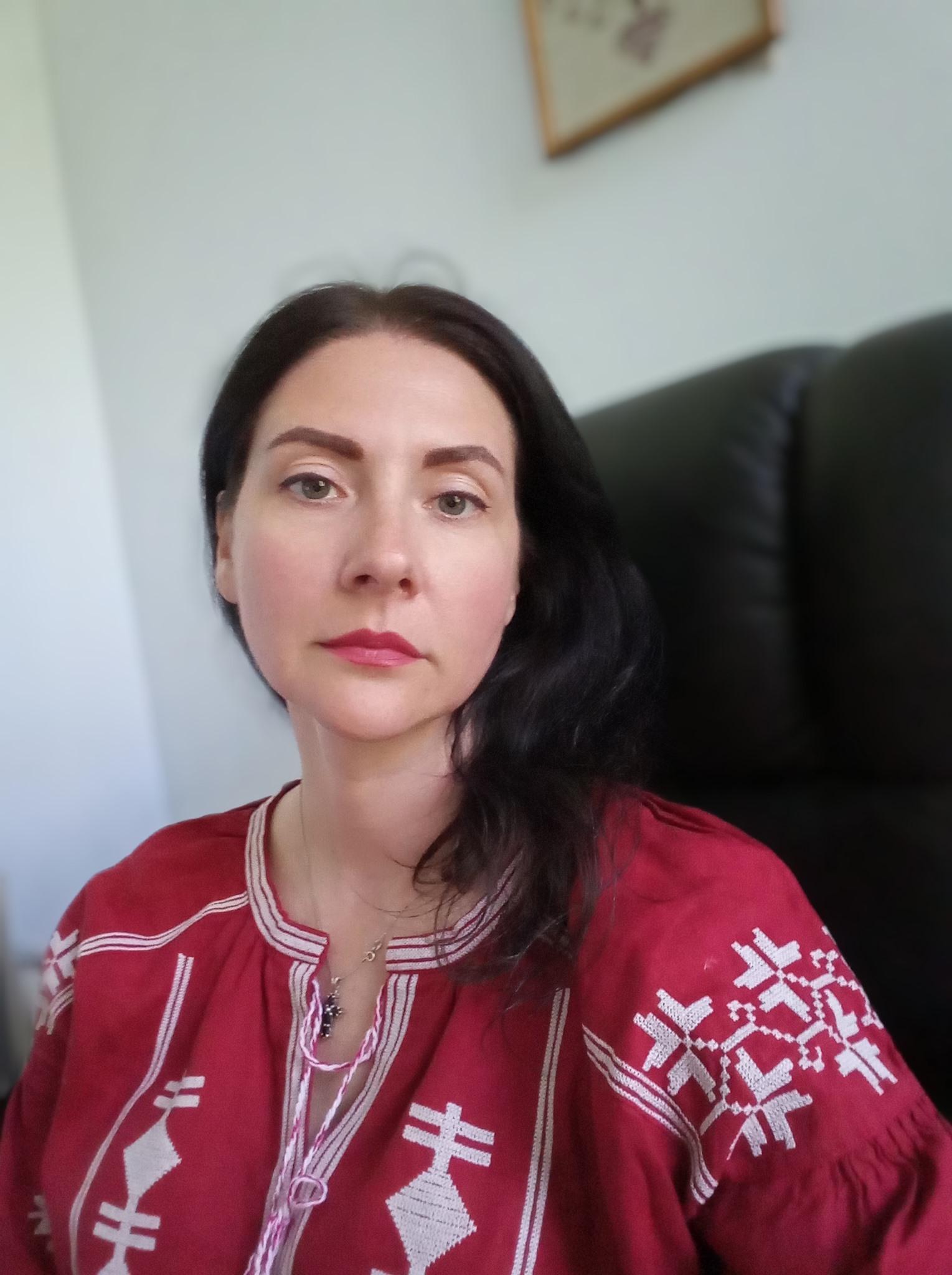 Людмила Шумкова, жена пленника.