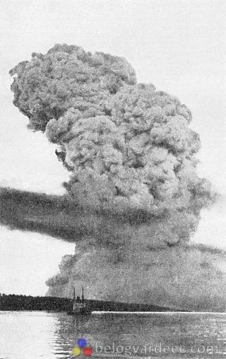 Взрыв в Галифаксе 1917 год