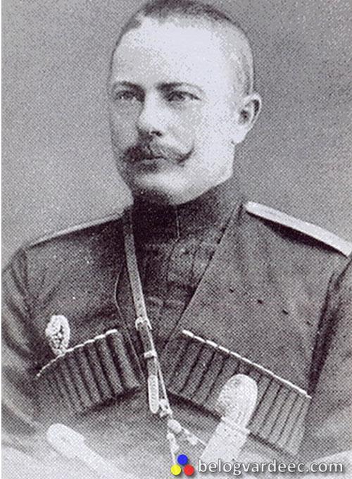 Генерал-Майор Успенский Николай Митрофанович. В ноябре 1919 –го избран атаманом Кубанского казачьего войска, умер от тифа в Екатеринодаре 17 декабря 1919 г.
