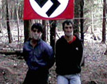 Кадр из жуткого видео с казнью лиц неславянских национальностей.