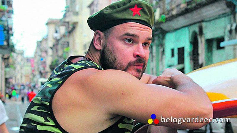 Марцинкевич на Кубе, 2013 год, незадолго до выдачи в РФ