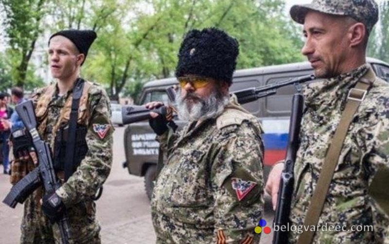 Казаки на Донбассе 2014 год