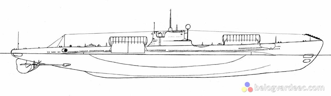 Подводная Лодка Шире_Scire