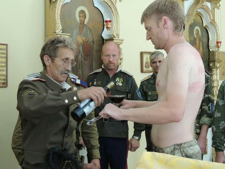 Церковный алкоголизм казаующих.