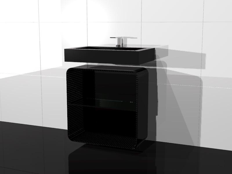 NAKED - Studio radiatore arredobagno 2009 ADHOC Gruppo Ragaini   rendering.