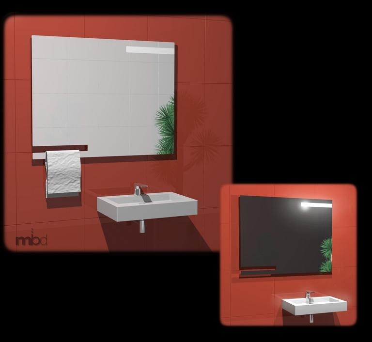 Sharp - Studio specchiera multifunzione 2009 ADHOC Gruppo Ragaini   rendering.