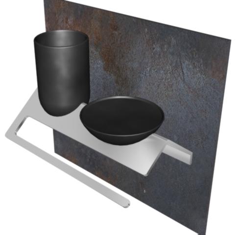 Into -  Studio accessori arredo bagno 2004 Toscana Metalli   alluminio | ceramica.