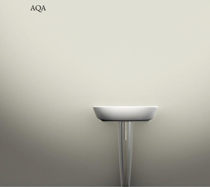 AQA  colonna | lavabo Piuma - Studio  2010 Ceramica Globo   rendering.
