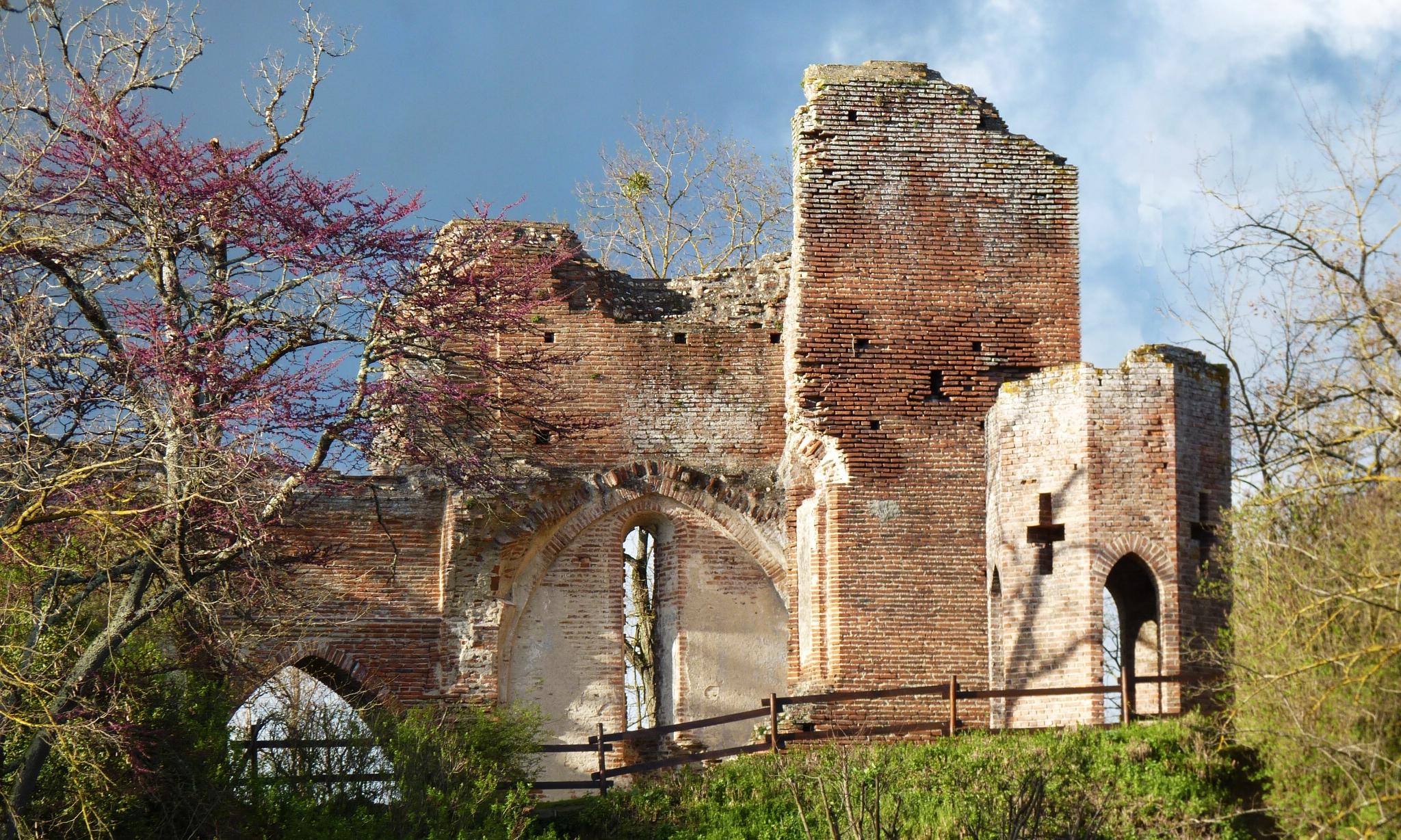 Les ruines du château du Castela