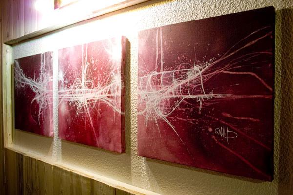 Détail // Triptyque 3x30/30 cm // 2007