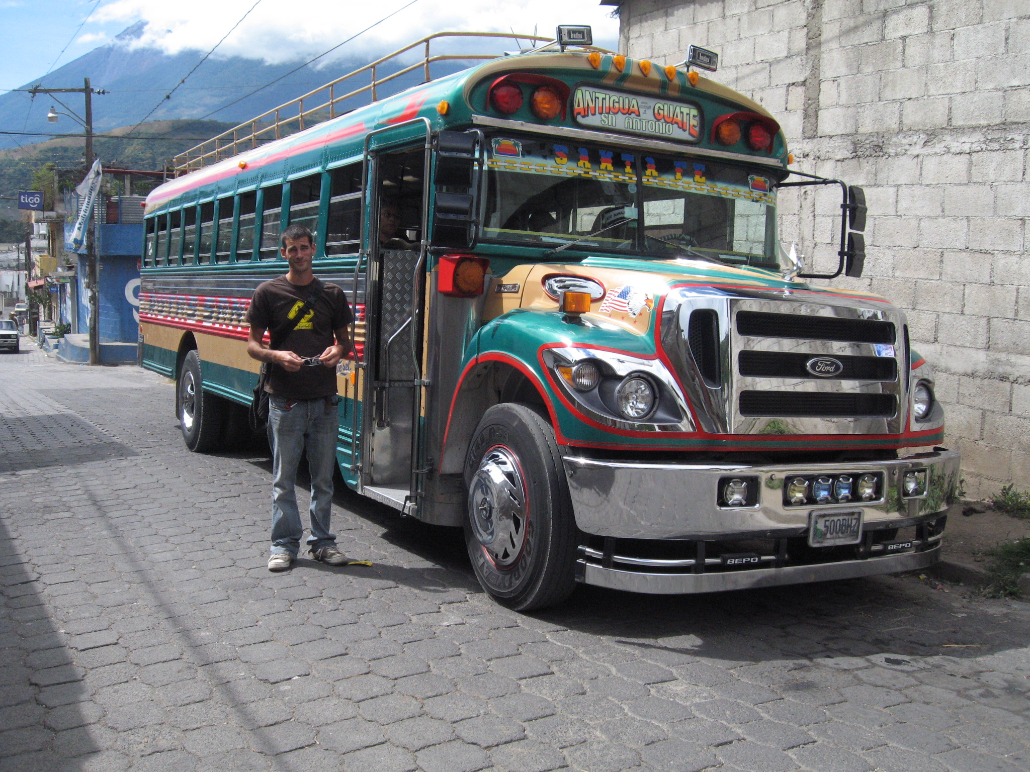 Chickenbus du Guatémala