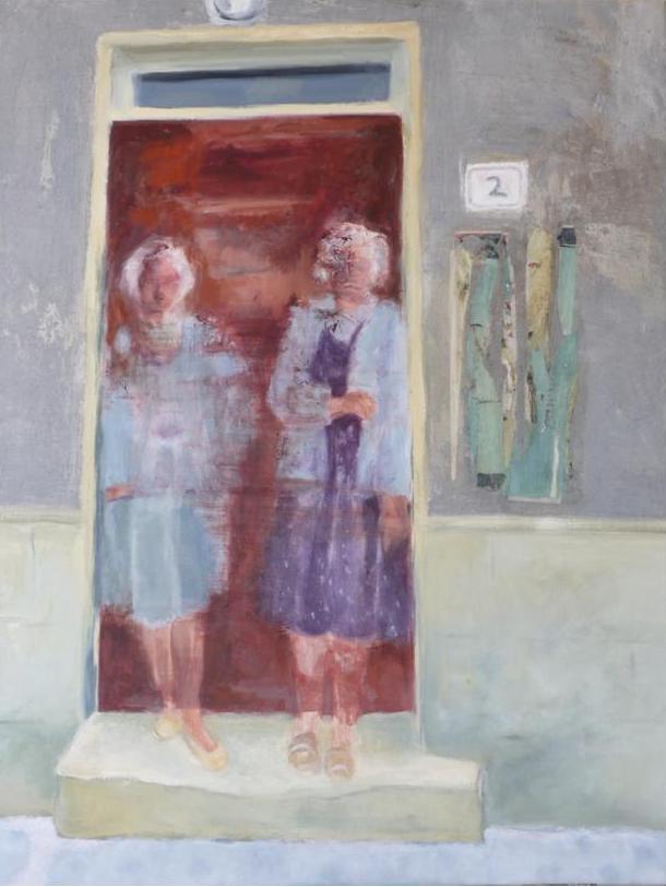 Deux   ---   2008 - Acrylique sur toile - 95 x 75 cm