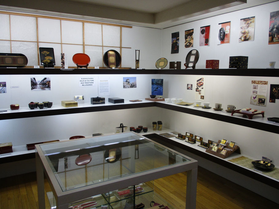 """Corner """"Hakuichi"""" - Articles à la feuille d'or"""