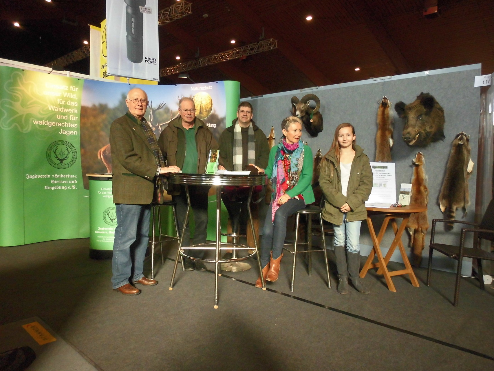 Infostand in Kooperation mit dem Jagdverein Hubertus Gießen e.V.in Alsfeld