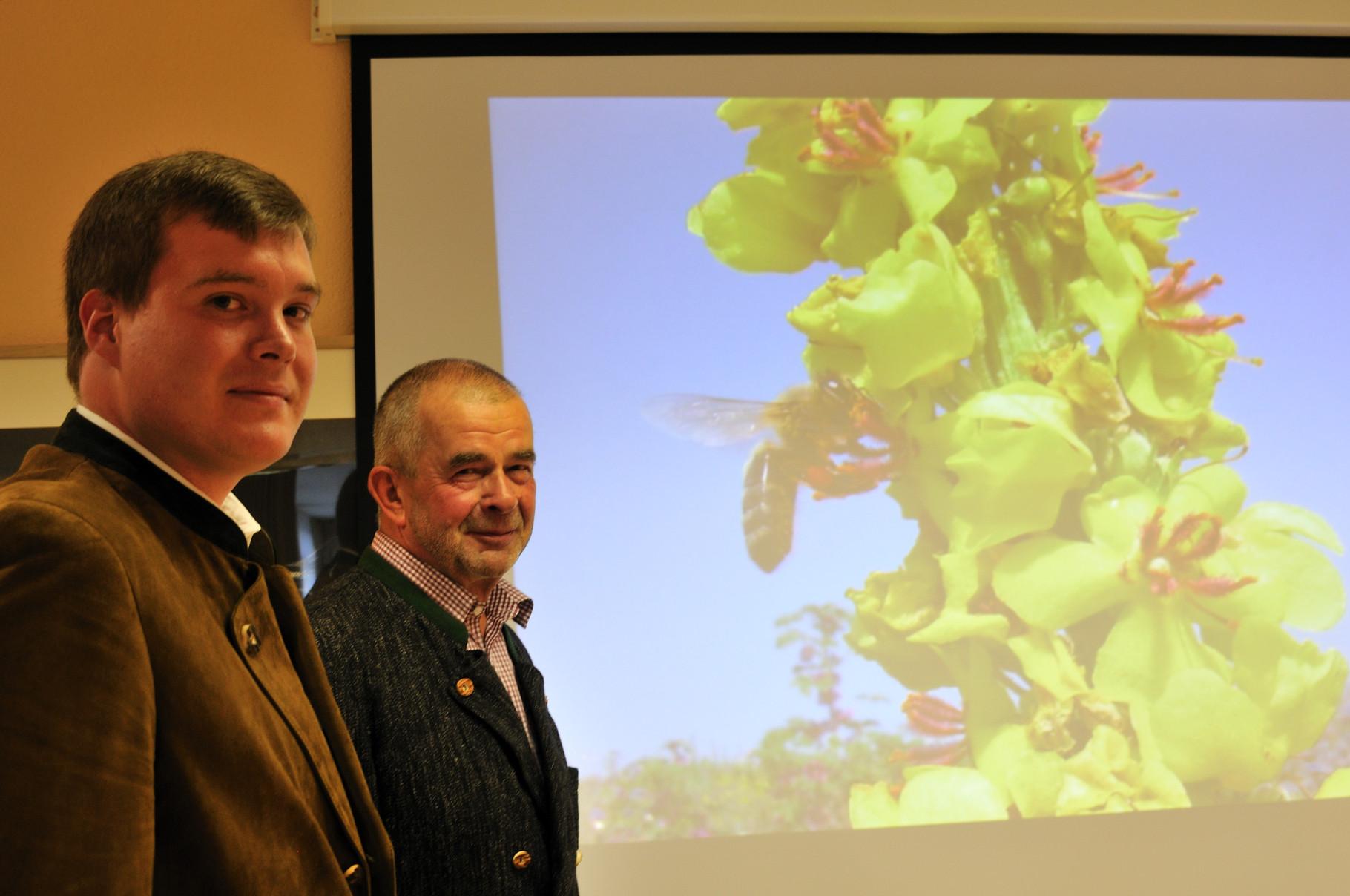 Fachvortrag in Kooperation mit dem Bienenzuchtverein und dem Verein für landwirtschaftliche Fortbildung Grünberg
