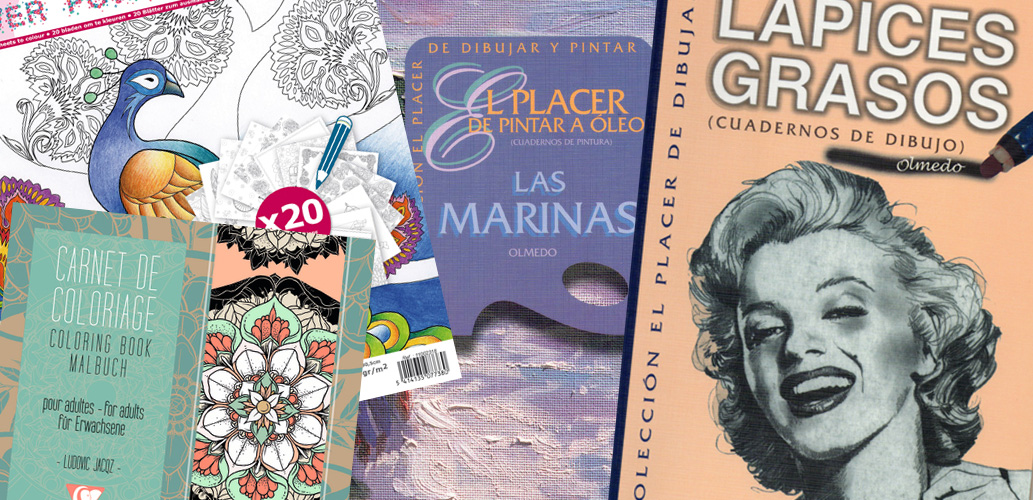 Libros para colorear y aprender