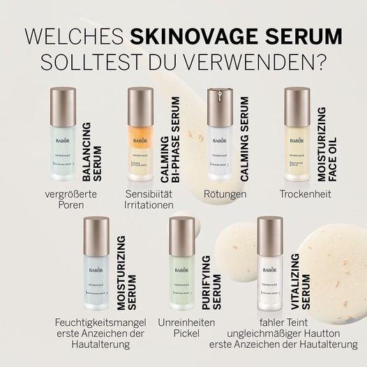 Welches Skinovage Serum solltest du verwenden?