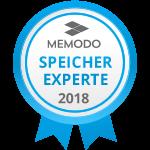 PV-Lieder ist MEMODO SPEICHER EXPERTE 2018