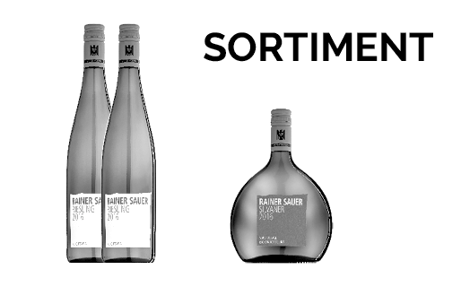 Weingut Rainer Sauer, Escherndorf, Sortimentsgestaltung - so ehrlich und bescheiden wie Rainer und Daniel Sauer, die Winzer im wunderschönen Weingut.