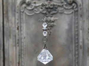 Kristallanhänger in 3 verschiedenen Designs aus Kunststoff von Chic Antique