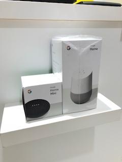 グーグルホームとグーグルホームミニ