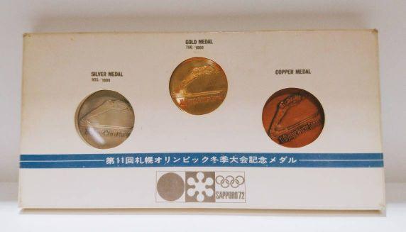 オリンピック記念メダル