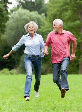 Freude an der Bewebung ist keine Frage des Alters...